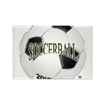 FootBall Soccer Rectangle Magnet (10 pack)