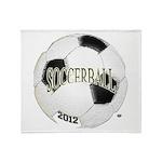 FootBall Soccer Throw Blanket