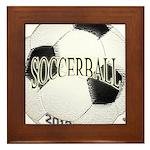 FootBall Soccer Framed Tile