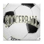 FootBall Soccer Tile Coaster