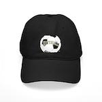 FootBall Soccer Black Cap