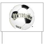 FootBall Soccer Yard Sign