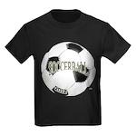 FootBall Soccer Kids Dark T-Shirt