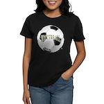 FootBall Soccer Women's Dark T-Shirt
