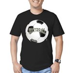 FootBall Soccer Men's Fitted T-Shirt (dark)