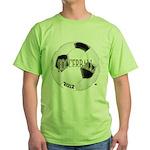 FootBall Soccer Green T-Shirt