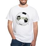 FootBall Soccer White T-Shirt