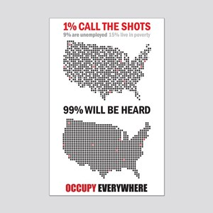 99 percent Mini Poster Print