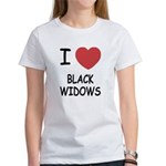 I heart black widows Women's T-Shirt