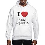 I heart flying squirrels Hooded Sweatshirt