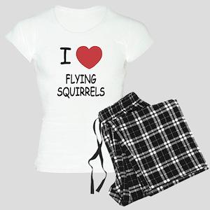 I heart flying squirrels Women's Light Pajamas