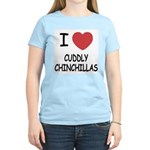 I heart cuddly chinchillas Women's Light T-Shirt