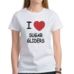 I heart sugar gliders Women's T-Shirt