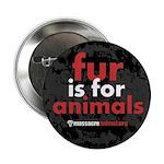 No Fur Stickers & Pins - 2.25
