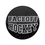 "Hockey 3.5"" Button (100 pack)"