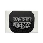 Hockey Rectangle Magnet (100 pack)
