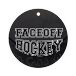 Hockey Ornament (Round)
