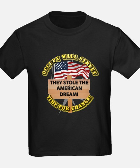 Occupy Wall Street - Time for Change T