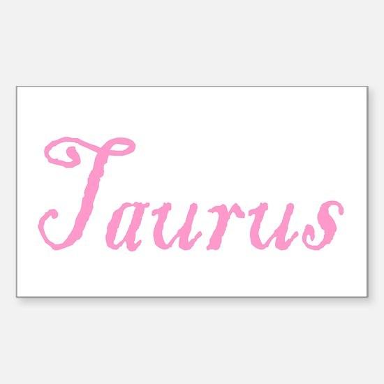 Taurus Rectangle Decal