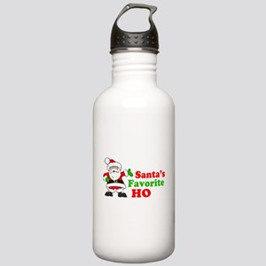 Santa's Favorite Ho Stainless Water Bottle 1.0L
