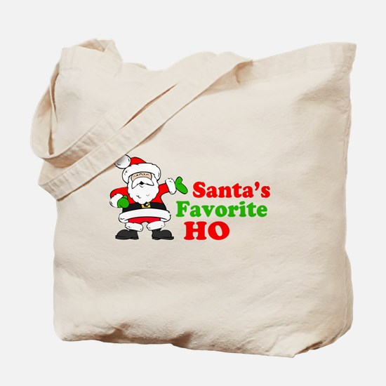 Santa's Favorite Ho Tote Bag