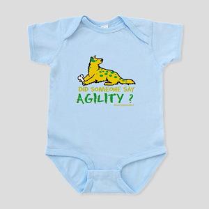 Did someone say Agility Infant Bodysuit