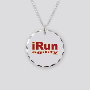 iRun agility Red/Yellow Necklace Circle Charm