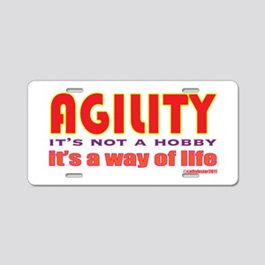 Way of Life Aluminum License Plate