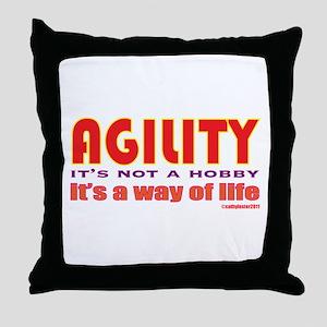 Way of Life Throw Pillow