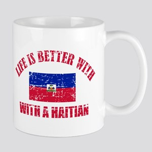 haitian designs Mugs