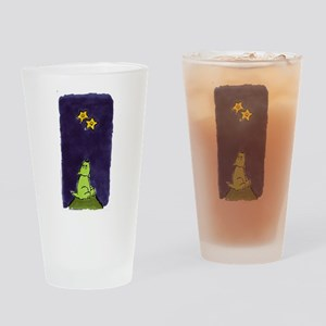 Double Q Drinking Glass