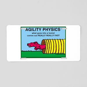 Agility Physics Aluminum License Plate