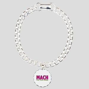 MACH live your dream Charm Bracelet, One Charm