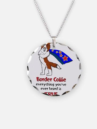 Super Border Collie - everyth Necklace