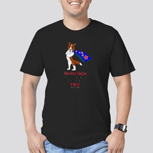 Super Border Collie - everyth Men's Fitted T-Shirt