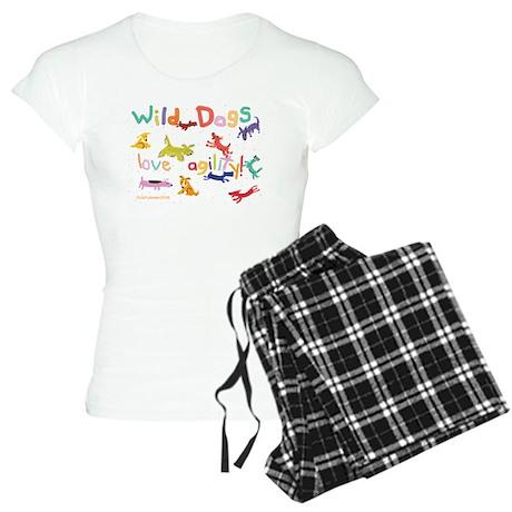 Wild Dogs Women's Light Pajamas