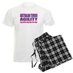 Australian Terrier Agility Men's Light Pajamas
