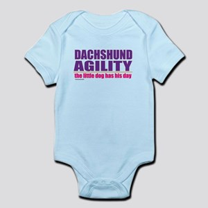 Dachshund Agility Infant Bodysuit