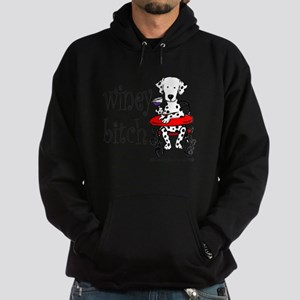 Winey Dalmatian Hoodie (dark)