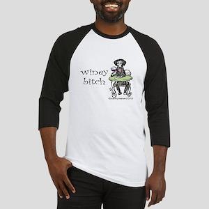 Winey Bitch Curly Baseball Jersey