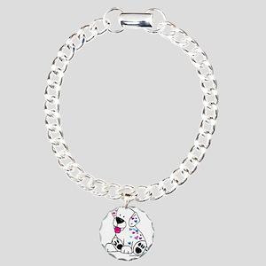 Love a Puppy Charm Bracelet, One Charm