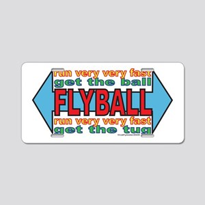 All About FLYBALL Aluminum License Plate