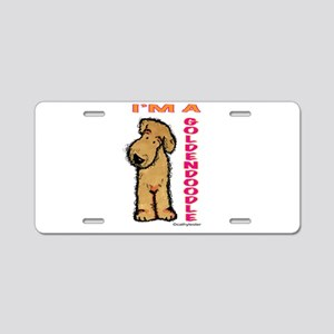 I'm a Goldendoodle Aluminum License Plate