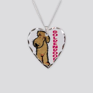 I'm a Goldendoodle Necklace Heart Charm