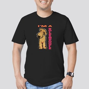 I'm a Goldendoodle Men's Fitted T-Shirt (dark)