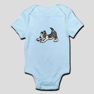Dog Playing With Ball Infant Bodysuit