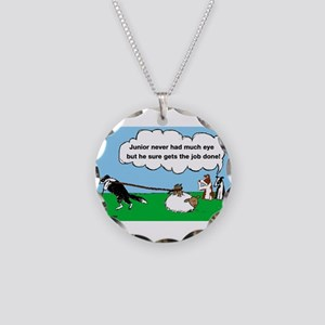 Junior Herds Necklace Circle Charm