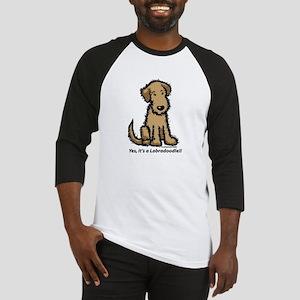 Labradoodle puppy Baseball Jersey