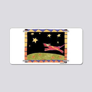Star Dog Aluminum License Plate