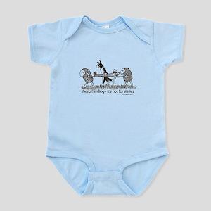 Sheep Herding Sissies Infant Bodysuit